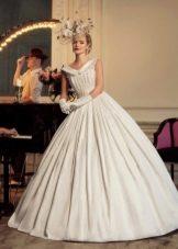 Свадебное платье пышное из коллекции Jazz Sounds Татьяны Каплун