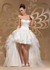 Свадебное платье хай-лоу от  To Be Bride 2012