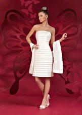 Свадебное платье короткое от  To Be Bride 2012