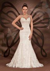 Свадебное платье рыбка от  To Be Bride 2012
