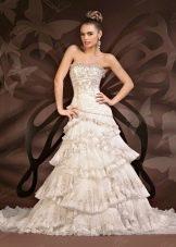 Свадебное платье от To Be Bride  многослойное