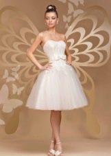 Пышное свадебное короткое платье от  To Be Bride 2012