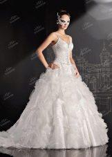 Свадебное платье от от To Be Bride пышное с воланами