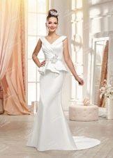 Свадебное платье от от To Be Bride  с баской