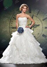 Свадебное платье из Bridal Collection 2014 с воланами