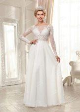 Свадебное платье из Bridal Collection 2014  с длинным рукавом