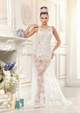 Свадебное платье из Bridal Collection 2014 полупрозрачное