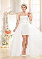 Свадебное платье из Bridal Collection 2014  со съемный шлейфом