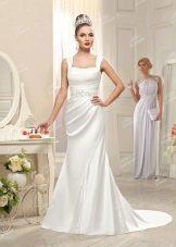Свадебное платье из Bridal Collection 2014  на бретелях