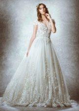 Свадебное платье от Zuhair Murad 2015 пышное  кружевное