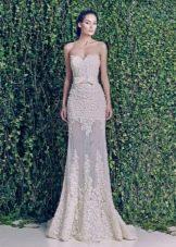 Свадебное платье из зимней коллекции 2014 прямое