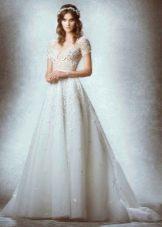 Свадебное кружевное с рукавом от Зухаира Мурада