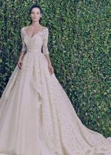 Свадебное платье из зимней коллекции 2014 в стиле принцесса