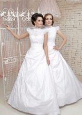 Свадебное платье закрытое из коллекции Love & Lacky