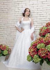 Свадебное платье на бретелях из коллекции Love & Lacky