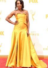 June Ambrose - платье Эмми 2015