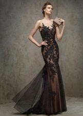 Вечернее платье русалка  2016 от Проновиас