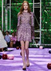 Вечернее платье от Диора 2016 короткое