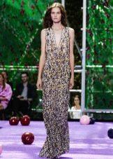 Вечернее платье от Диора 2016 в пол