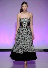 Вечернее платье в стиле ретро на выпускной