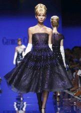 Вечернее платье в стиле ретро на выпускной короткое