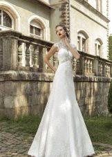 Свадебное платье с закрытом горлом от Армонии