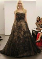 Пышное свадебное платье от Веры Вонг