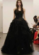 свадебное платье от Веры Вонг в стиле принцесса