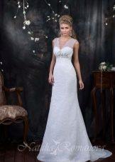 Свадебное платье из коллекции EUROPE COLLECTION а-силуэта