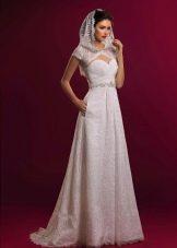 Свадебное платье из коллекции Аристократка с карманами