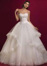 Свадебное платье из коллекции Аристократка в стиле принцесса