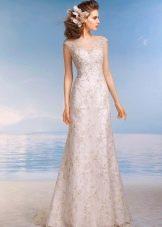 Свадебное платье из коллекции Райский остров кружевное