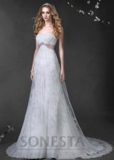 Свадебное платье из коллекции «Love Story» ампир