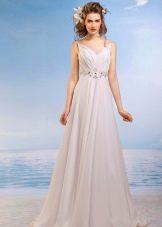 Платье свадебное ампир