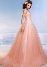 Цветное свадебное платье от Романовой