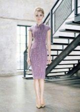 Вечернее платье из шерсти