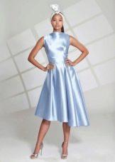Синее вечернее платье праздничное на свалдьбу