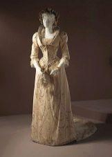 Платье свадебное 18-19 века