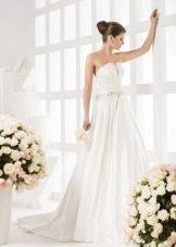 Платье свадебное прямое