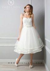 Короткое свадебное платье от Василькова нью лук