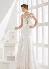 Свадебное платье от Василькова с кружевом
