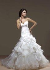 Свадебное платье с пышной юбкой из коллекции Голд от Хадасса
