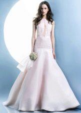 Русалка свадебное платье с кринолином