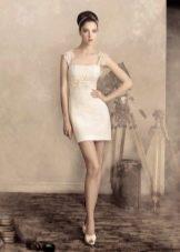 Свадебное платье футляр из коллекции По дороге в Голливуд