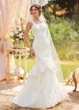Свадебное платье из коллекции «Sole Mio» русалка