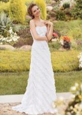 Свадебное платье из коллекции «Sole Mio» прямое