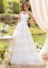 Свадебное платье из коллекции «Sole Mio» пышное
