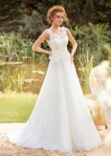 Свадебное платье из коллекции «Sole Mio» с кружевом