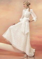 Свадебное платье-рубашка из коллекции «Эллада»