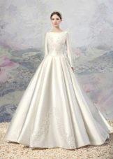 Свадебное платье из коллекции «Эллада» пышное